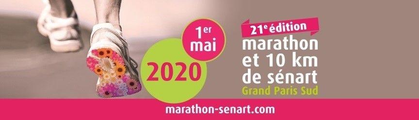 Marathon et 10 km de Sénart 2020